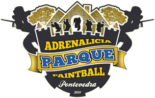 logo campo paintball adrenalicia
